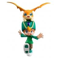 Digimon Adventure G.E.M. Series - Statuette Takaishi Takeru & Patamon 11 cm