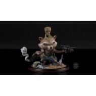 Les Gardiens de la Galaxie Vol. 2 - Figurine Q-Fig Rocket & Groot 14 cm