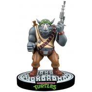 Tortues Ninja - Les  statuette Rocksteady 30 cm