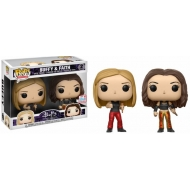 Buffy - Pack 2 POP! TV Vinyl figurines  & Faith 2017 Fall Convention Exclusive 9 cm
