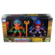 Les Maîtres de l'univers - Pack 2 figurines Stratos & Man-At-Arms SDCC 2016 8 cm
