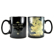 Game of Thrones - Mug effet thermique Map