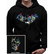 DC Comics - Sweater à capuche Batman Gotham Face