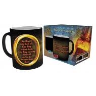 Le Seigneur des Anneaux - Mug effet thermique One Ring