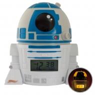 Star Wars - Réveil lumineux BulbBotz R2-D2 14 cm
