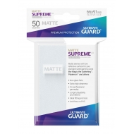 Ultimate Guard - 50 pochettes Supreme UX Sleeves taille standard Frosted Mat