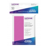 Ultimate Guard - 50 pochettes Supreme UX Sleeves taille standard Rose
