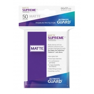 Ultimate Guard - 50 pochettes Supreme UX Sleeves taille standard Violet Mat