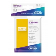 Ultimate Guard - 50 pochettes Supreme UX Sleeves taille standard Jaune Mat