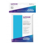 Ultimate Guard - 50 pochettes Supreme UX Sleeves taille standard Bleu Clair