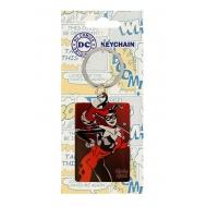 DC Comics - Porte-clés métal Harley Quinn 6 cm