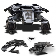 Batman The Dark Knight Rises - Réplique métal The Bat Plane 1/50