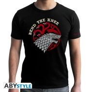 Game Of Thrones - T-shirt Bend the Knee - homme MC black - new fit