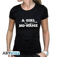 Game Of Thrones - T-shirt A Girl Has No Name femme MC black - basic