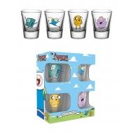 Adventure Time - Set 4 verres à liqueur