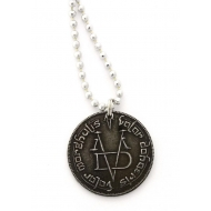 Game of Thrones - Pendentif et collier Iron Coin of the Faceless Man