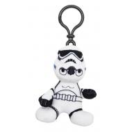 Star Wars Episode VII - Porte-clés peluche Stormtrooper 8 cm