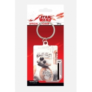 Star Wars Episode VIII - Porte-clés métal BB-8 Peek 6 cm