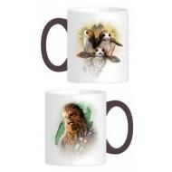 Star Wars Episode VIII - Mug Chewie & Porgs