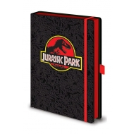 Jurassic Park - Carnet de notes Premium A5 Classic Logo