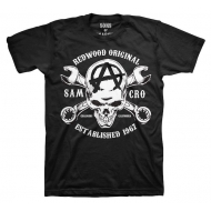 Sons of Anarchy - T-Shirt Redwood Skull