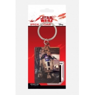Star Wars Episode VIII - Porte-clés métal R2-D2 & Porgs 6 cm