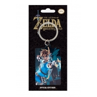 The Legend of Zelda Breath of the Wild - Porte-clés métal Cover 6 cm