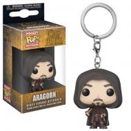 Le Seigneur des Anneaux - Porte-clés Pocket POP! Aragorn 4 cm