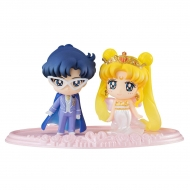 Sailor Moon - Set 2 mini figures Petit Chara Neo Queen Serenity & King Endymion 6 cm