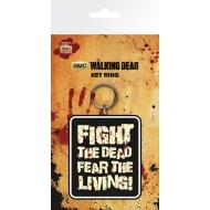 The Walking Dead - Porte-clés Fight The Dead 7 cm