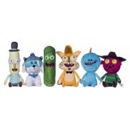 Rick et Morty - Set 6 peluches Rick et Morty 25 cm