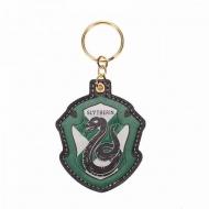 Harry Potter - Porte-clés PU Slytherin Crest 15 cm