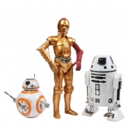 Star Wars Episode VII - Pack 3 figurines Droids Exclusive 30 cm