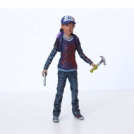 The Walking Dead - Figurine Clementine (Bloody) 9 cm