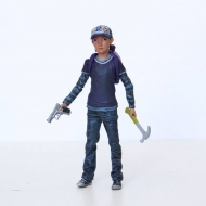 The Walking Dead - Figurine Clementine (Color) 9 cm