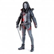 The Walking Dead - Figurine Michonne (Bloody B&W) 15 cm