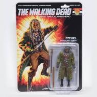 The Walking Dead - Figurine Shiva Force Sensei Ezekiel (Bloody) 13 cm