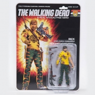 The Walking Dead - Figurine Shiva Force Commander Rick (Bloody) 13 cm