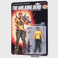 The Walking Dead - Figurine Shiva Force Commander Rick (Color) 13 cm