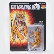 The Walking Dead - Figurine Shiva Force Tiger Shiva (Bloody) 13 cm