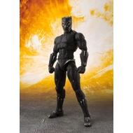 Avengers Infinity War - Figurine S.H. Figuarts Black Panther & Tamashii Effect Rock 16 cm