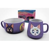 Sailor Moon - Set petit-dejeuner Luna & Artemis