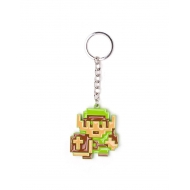 The Legend of Zelda - Porte-clés métal 3D 8-Bit Link 7 cm