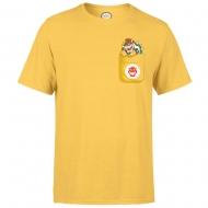 Nintendo - T-Shirt Bowser Pocket