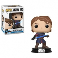 Star Wars Clone Wars  - Figurine POP!  Head Anakin 9 cm