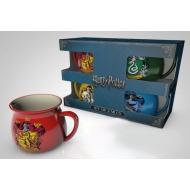 Harry Potter - Pack 4 tasses Espresso Crests