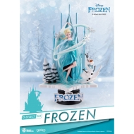La Reine des neiges - Diorama PVC D-Select 18 cm