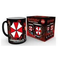 Resident Evil - Mug effet thermique Umbrella