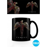 Harry Potter - Mug effet thermique Fawkes