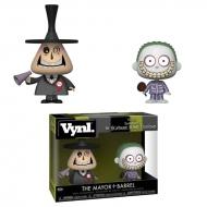 L'étrange Noel de Mr. Jack - Pack 2 figurines Mayor & Barrel 10 cm